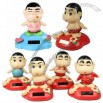 Solar Power Body Shaking Crayon Shin Chan Doll Toy