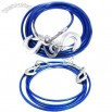 TYPER 5T Blue Steel Wire Tow Rope for Vehicle