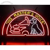 The masters Voice Neon Sign