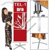 Tradeshow Budget Banner Stand Telescopic