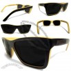 Two Tone Square Wayfarer Bamboo Sunglasses