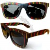 Varicoloured Wooden Sunglasses