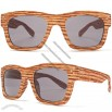 Wood Look Wayfarer Sunglasses in Oak Wood