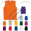 Youth Pro Mesh Sleeveless Tw0-button Jersey