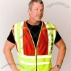 ANSI 207-2006 Class 2 Public Safety Vest - Fire