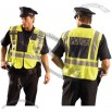ANSI 207-2006 Deluxe Yellow Public Safety Police Vest