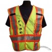ANSI Class 107/207 Class 2 Public Safety Vest - Yellow - Breakaway