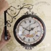 Antique Drawing Room Double Side Walk Clock