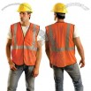 Class 2 Flame Retardant Surveyors Vest - Orange