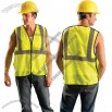 Class 2 Value 5 Point Breakaway Safety Vest - Yellow