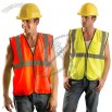 Class 2 Value Surveyors Mesh Vest -Yellow/Orange