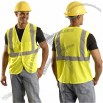 Classic Mesh 5-pt. Break-Away Safety Vest Yellow