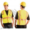 Classic Mesh Two-Tone Safety Vest - Yellow