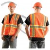 Classic Solid Two-Tone Surveyor Vest Orange