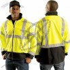Hi-Viz Breathable Windbreaker Jacket-Class 3