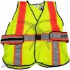 LED Illuminated Reflective Safety Vest