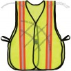Non-ANSI High Visibility Open Mesh Vest with Triple Reflective Trim