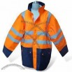 Parka Safety Jacket with Detachable Sleeves and T/C Lining