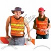 Pullover Cooling Vest - Hi Viz Orange/Yellow