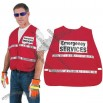 Red Incident Command Vest