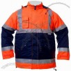 Reflective Safety Jacket with 210T Polyester Lining and 3m Reflective Tape