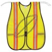 Safety Double Striped Economy Vest