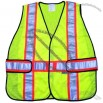 Safety Poly Mesh Safety Vest: Lime