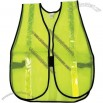 Safety Single Reflective Lime Stripe Vest in Lime