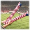 United States Cheering Sticks, Inflatable Cheer Thunder Sticks