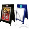 Wooden A-boards Aluminium Frame