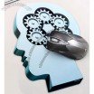 Thinker Pattern Mouse Pad