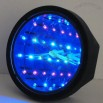 Time Tunnel Infinity LED Reflection Mirror Magic Clock