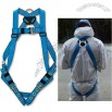 Blue Fall Protection Harness