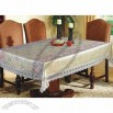 Linens Table with Flower Printing