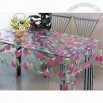 PVC Transparent Tablecloth with 120 to 150cm Width