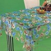 Tablecloth with Width of 120 to 185cm and PVC Transparent