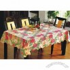 Vinyl Table Cloth with Nonwoven, Flannel, TC Backing and Maximum Width of 185cm