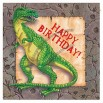 Dinosaur Party Birthday Napkins 16 In A Pack