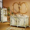 Wooden Basin Cabinet in Antique Design