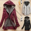 Women's Double Layer Hooded Jacket