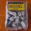 Magnetic Poetry Sequel Edition Original Fridge Refrigerator Magnets With Case