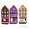 Resin Souvenir 3D Fridge Magnets for Belgium