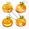 Halloween Decorative Sticker, Washable, Removable and Reusable