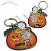 Halloween Motif Clear Acrylic Key Tags