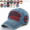 Distressed Vintage Baseball Cap Snapback Trucker Hat