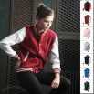 New Slim-fit Baseball Jackets Double-layer Cotton Stretchy Two-tone