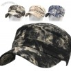 Camo Vintage Cotton Ball Cap Unisex Cadet Hats