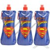 Superman 20 oz Collapsible Water Bottle