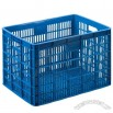Large Plastic Storage Containers-Cloth Plastic Crate 657x460x410mm