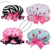 High Quality Waterproof Bath Shower Cap Hat in 4 Designs